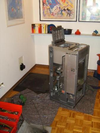 pulizia annuale di una stufa a pellet manutenzione
